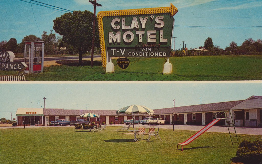 Clay's Motel -  Glasgow, Delaware