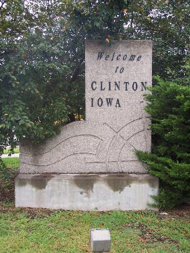 Welcome to Clinton, Iowa