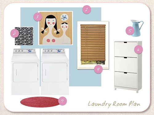 Laundry Room Design Plan | by emily @ go haus go