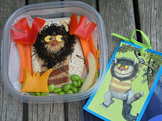 Wild Things Monster bento | by cookingformonkeys