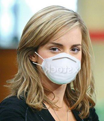 Emma Waston Wearing Dust Mask | maskedlion3 | Flickr