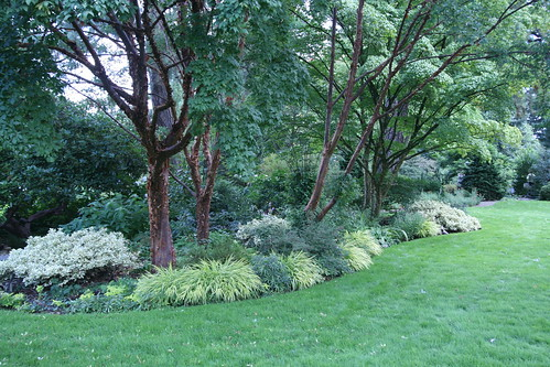 Landscape bed at Bates Garden in Portland | by Gardening Solutions