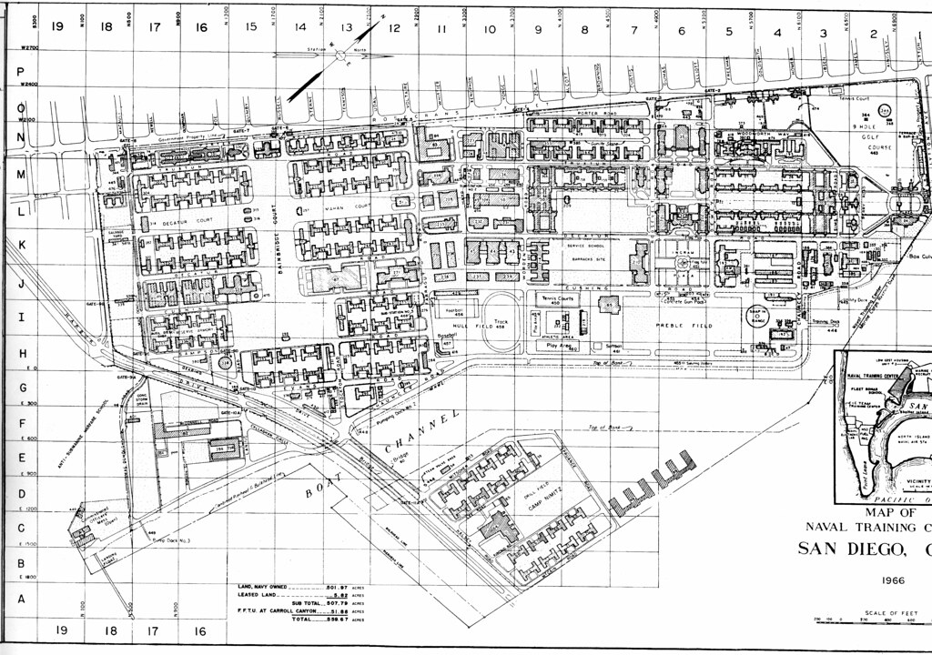 naval training center san go 1966 map this is the ear flickr
