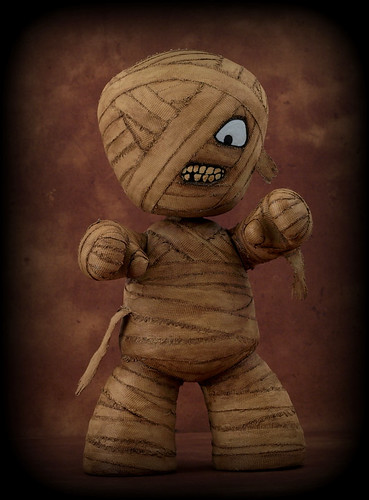 The Mummy (custom Mez-Itz designer vinyl figure) | by Inanimate Life Photography