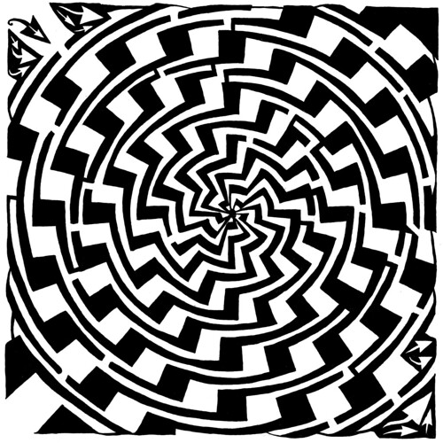 gradiant-tunnel-swirl-maze | by yfrimer