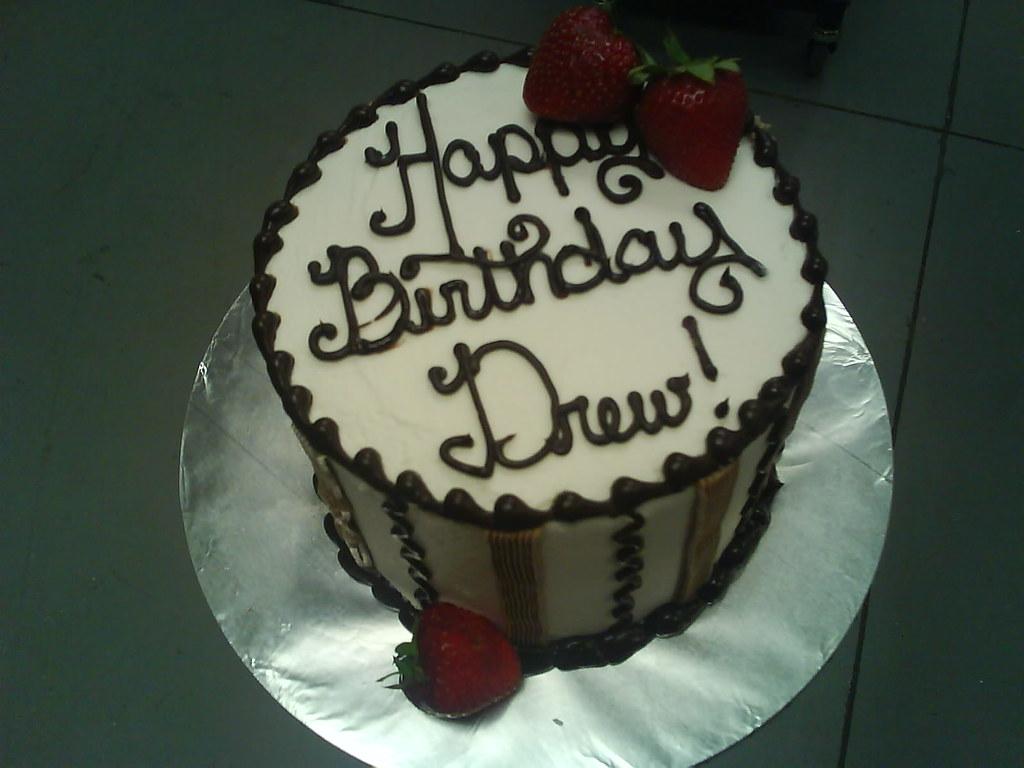 Masculine Birthday Cake Celcakes Flickr