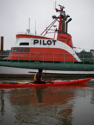 kayak and pilot boat | by red alder ranch