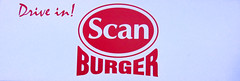 Scanburger drive-in sign | by getzsch