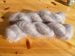 laceweight mohair | by LornaJane.net
