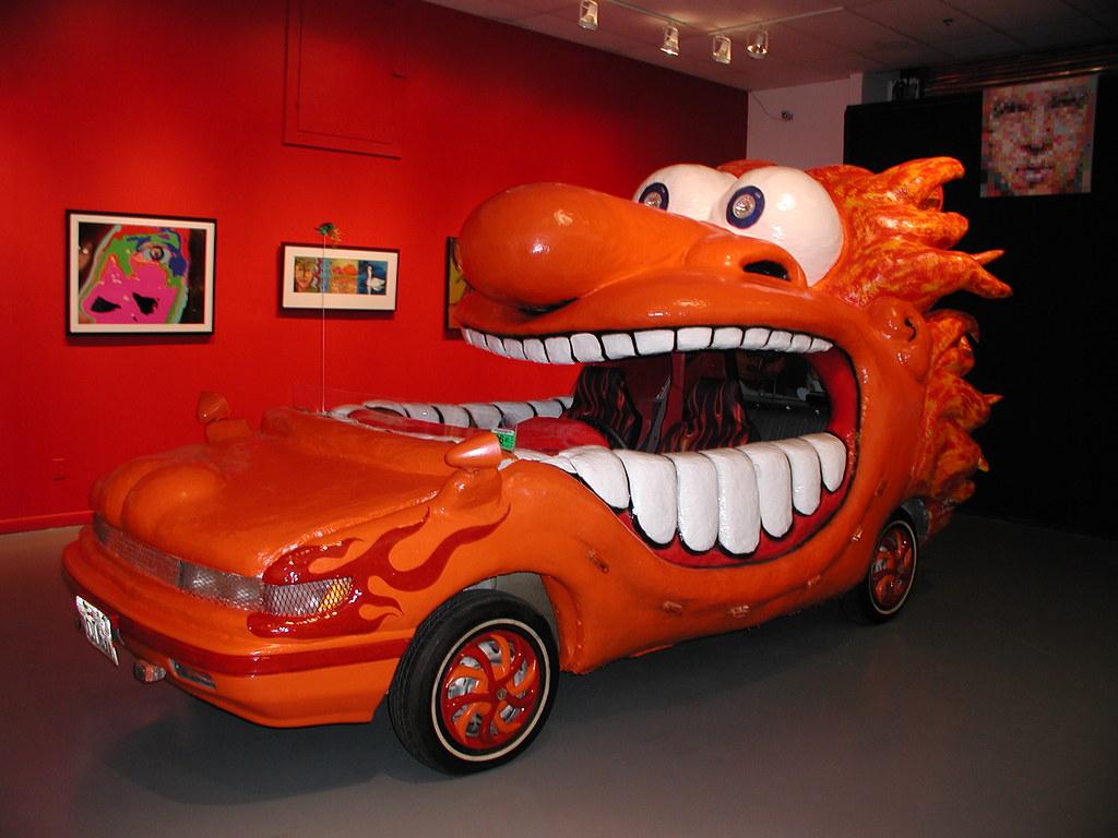 Art Car Museum By Freelulu