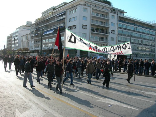 10-12-2008 14:05:02 Protest in Athens | by endiaferon