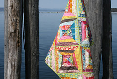 a wonderfully wonky anna maria horner string quilt | by filminthefridge