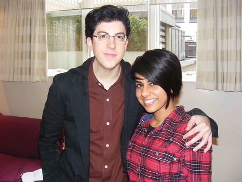 Christopher Mintz Plasse and Sandy Cheema | by movie geeks