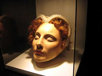 Mary Queen of Scots Death Mask (2) | Notice how this death ...