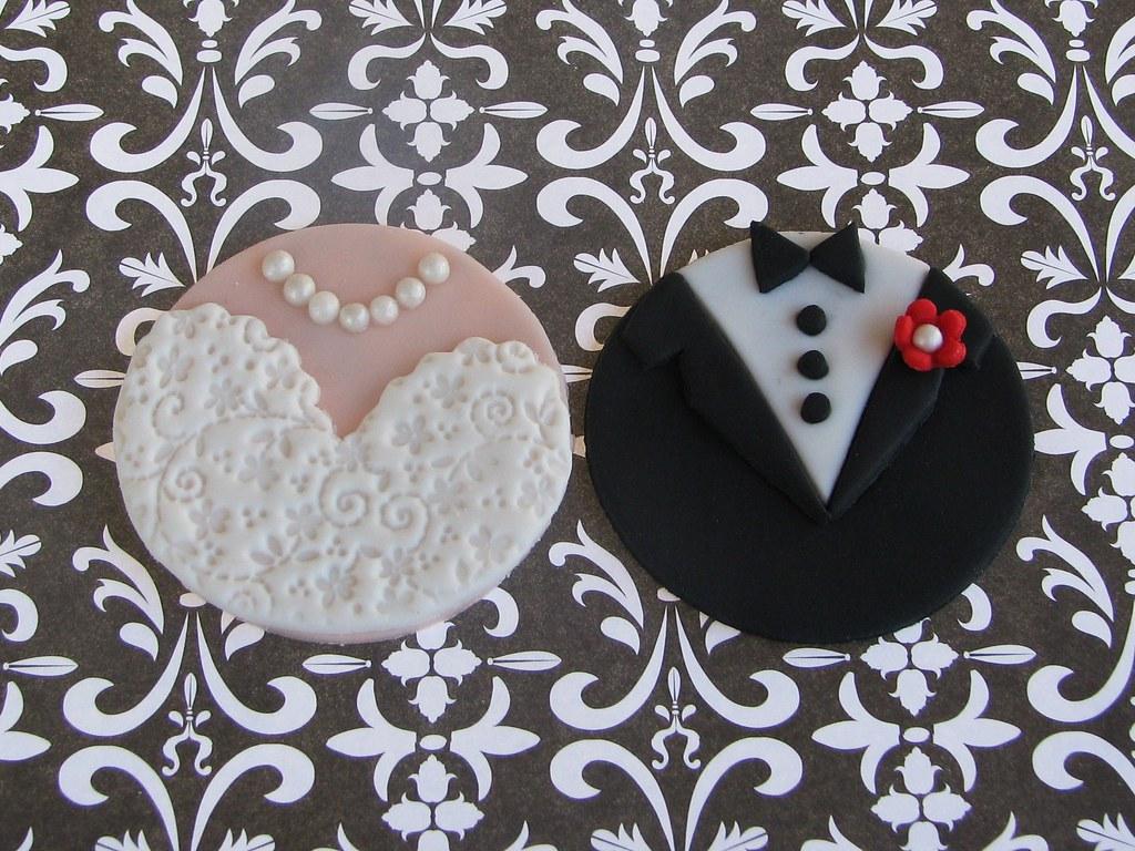 Engagementwedding Cupcake Toppers Lynlee Flickr