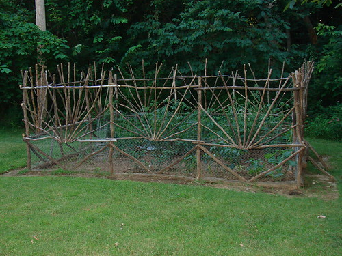 Handmade Garden Fence This Is The Fence I Made For Our