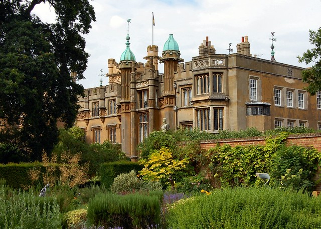 The house from the gardens