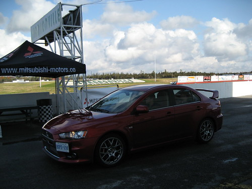 Shannonville Lancer Ralliart Mitsubishi Motors Canada Flickr
