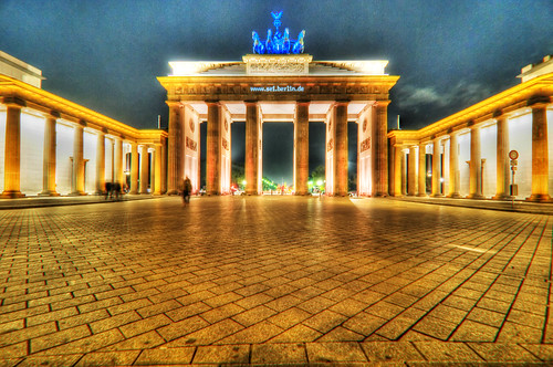 Brandenburger Tor at Festival of Lights - Berlin, Germany | by Xindaan