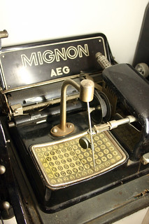 AEG Mignon index typewriter | by Florian Hardwig
