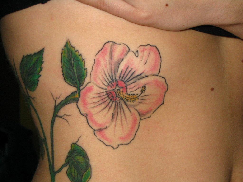 Flower tattoo hibiscus flower tattoo mike frieary flickr flower tattoo by msf12508 flower tattoo by msf12508 izmirmasajfo