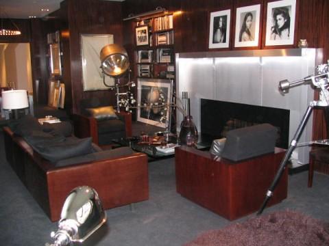 ... MidCenturyGuyNYC Ralph Lauren Home Ultra Modern Living Room 2 | By  MidCenturyGuyNYC