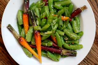 Sesame Peas & Carrots | by kristin :: thekitchensink