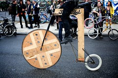 Black Label's Wooden Bicycle | by Gary Rides Bikes
