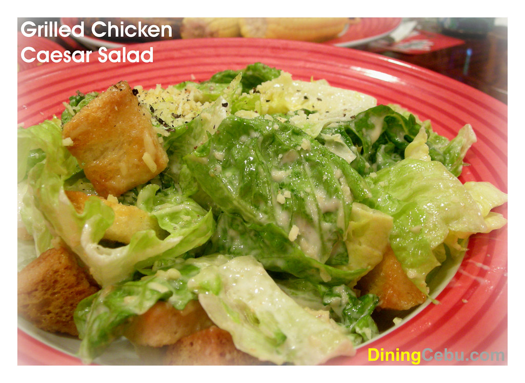 Tgi Fridays Ayala Cebu Grilled Chicken Caesar Salad Flickr