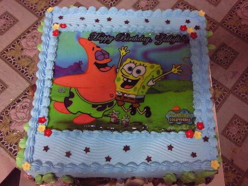 Patrick and Spongebob Birthday Cake Sweetz Treats Flickr
