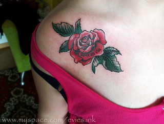 rose tattoo | by Evie's Ink