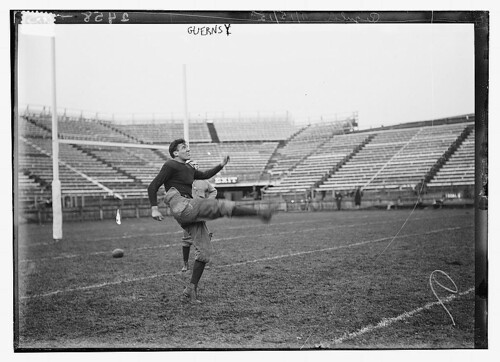 "[Otis Love Guernsey, football player and ""squash tennis"" player at Yale University]  (LOC) 