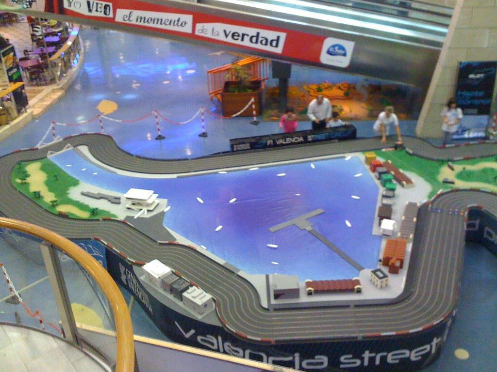 Circuito Valencia F1 : Maqueta slot del circuito urbano de valencia f jose luis flickr