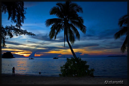 Sunset at Pulau Tioman | by oh.sharon