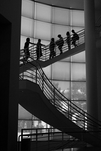 Staircase Silhouette | by Randy Son Of Robert