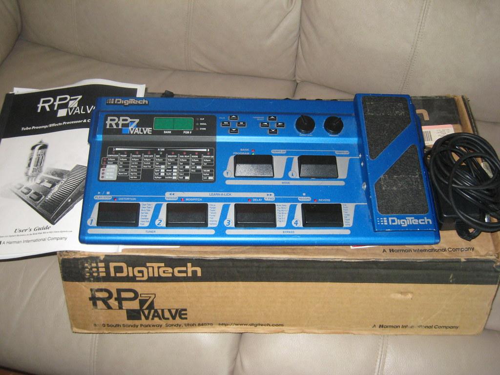 Digitech RP7 | by vbortone Digitech RP7 | by vbortone