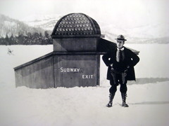 Buster Keaton & Snowy Subway - The Frozen North | by Annie Mole