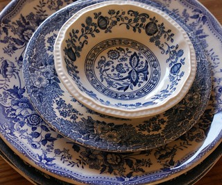 blue dishes | by dutch blue
