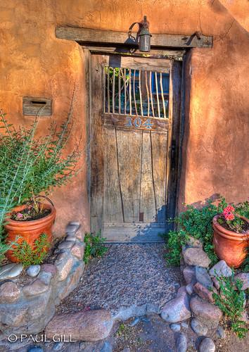 Santa fe door g new mexico