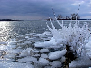 St. Lawrence River Ice | by deanspic