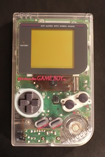 Game Boy - Clear case | by uberLAB