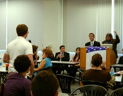 Nick Debate | by stjcollegedemocrats