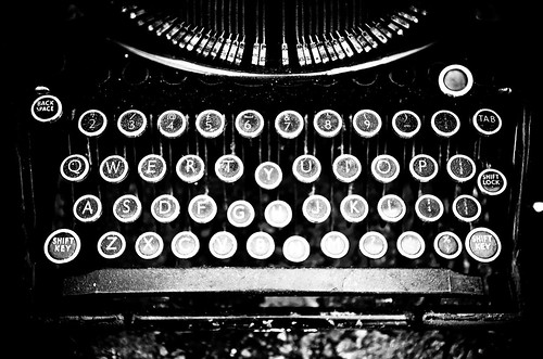 Typewriter B/W....now write the story. | by geishaboy500