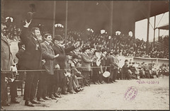 The Boston Royal Rooters at the Huntington Avenue Grounds, 1903 World Series | by Boston Public Library
