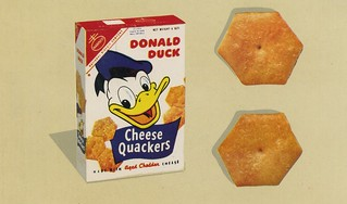 Donald Duck Cheese Quackers | by grickily