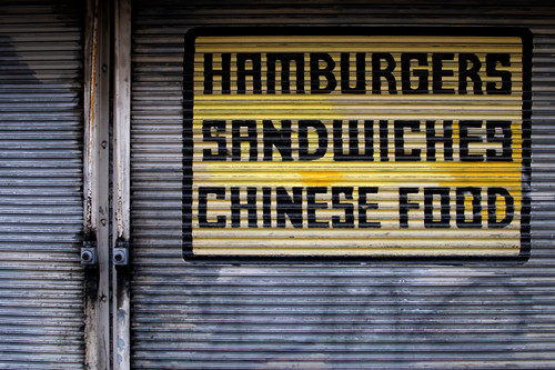 Hamburgers Sandwiches Chinese Food | by David Gallagher
