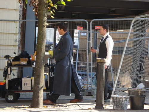 Torchwood Shooting 26/09/08 | by Alyx Sands