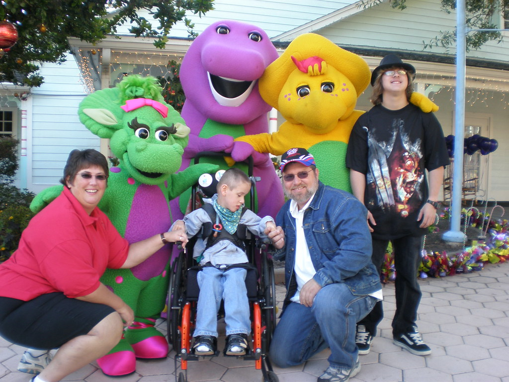 all of us with barney baby bop bj samlee415 flickr