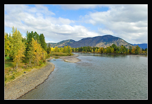 Flathead River at Columbia Falls, Montana | by sjb4photos