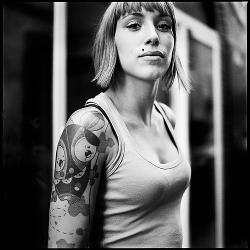 Portrait de rue - Tattoo, percing, etc. | by Ivan Constantin